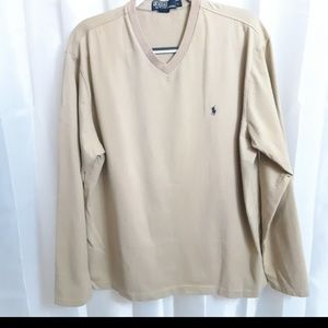 Polo by Ralph Lauren Long Sleeve V-Neck Pullover